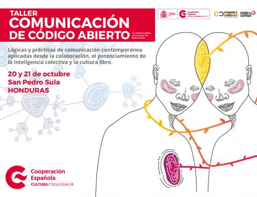 Asistir y co-crear un taller de «Comunicación de Código Abierto»