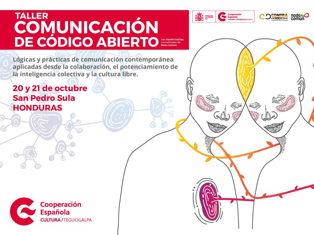 """Asistir y co-crear un taller de """"Comunicación de Código Abierto"""""""