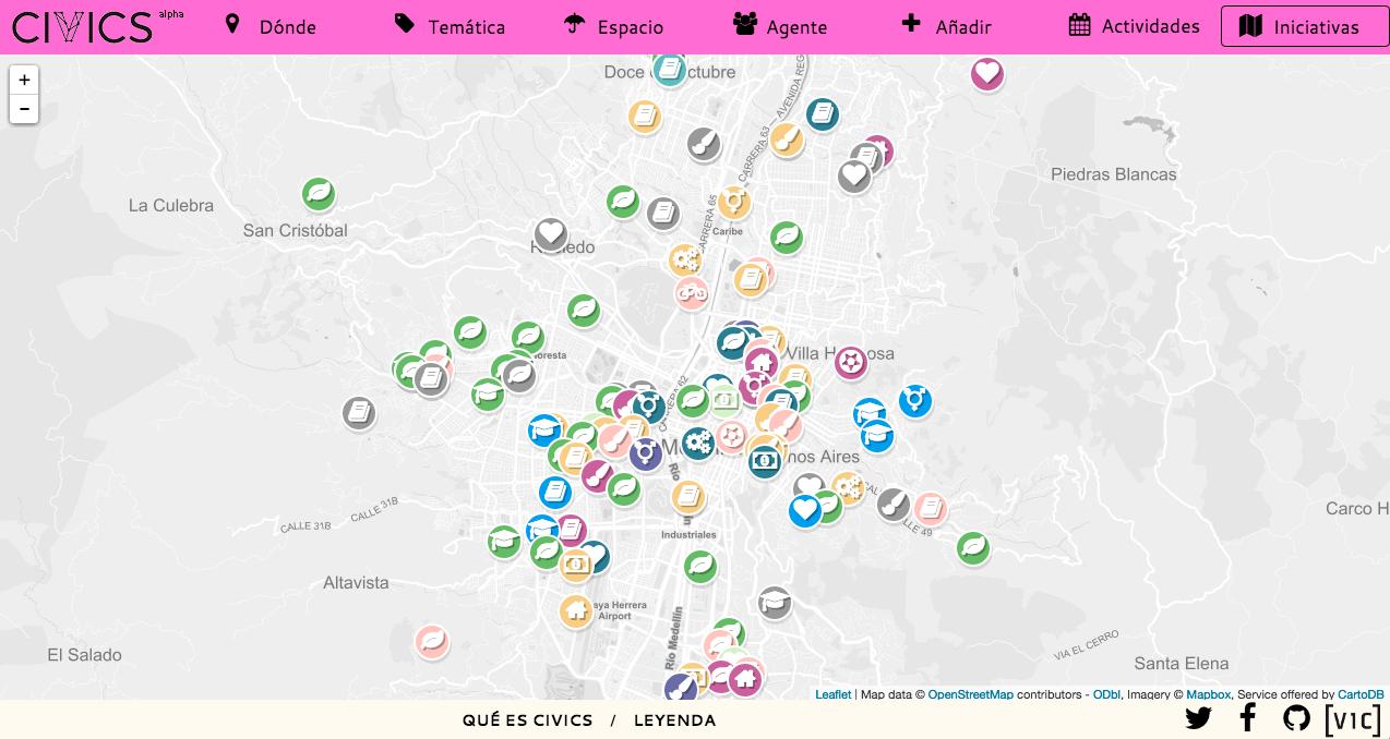 CIVICS en Bolivia | El mapa que genera impacto social